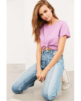 Hang Tight Knotted Tee