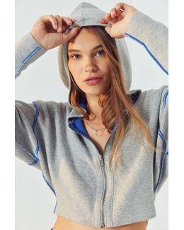 Reversible Dolman Sweater Hoodie