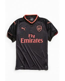 Arsenal F.c. Black Out Jersey