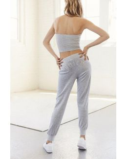 For Uo Gothic Crystal High-rise Velour Track Pant
