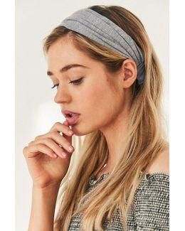 Cotton Wideband Headwrap