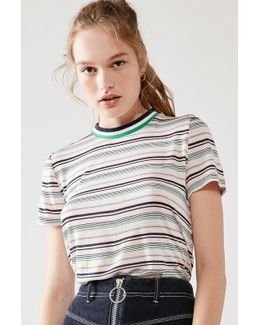 Striped Tipped Tee