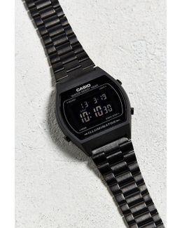 Vintage Digital Clasp Metal Watch