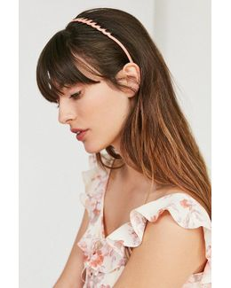 Scalloped Comb Headband