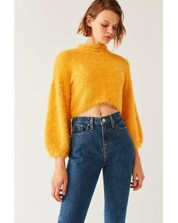 Molly Fuzzy Cropped Sweater