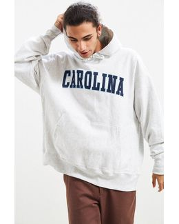 University Of North Carolina Reverse Weave Hoodie Sweatshirt