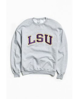 Louisiana State University Eco Fleece Crew Neck Sweatshirt