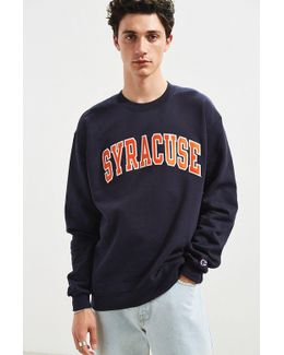 University Of Syracuse Eco Fleece Crew Neck Sweatshirt