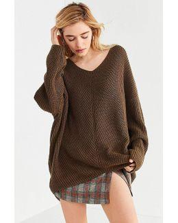 Harper Knit High/low Sweater
