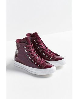 Chuck Taylor All Star Patent Leather High Top Sneaker