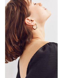 Hollow Hoop Earring