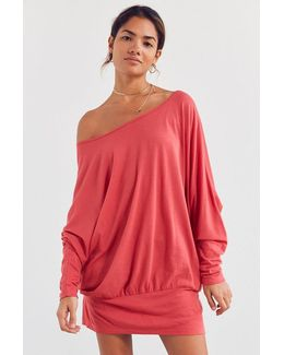 Dolman Sleeve Tunic Top