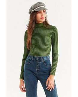 Macy Ribbed Knit Turtleneck Sweater