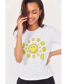 Smile Spiral Short Sleeve Tee