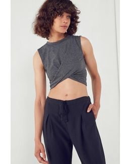 Shelley Cross-front Cropped Tank Top