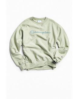 & Urban Outfitters Script Logo Crew Neck Sweatshirt