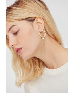 Serena Tassel Drop Earring