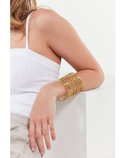 Wire Statement Cuff Bracelet