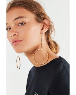 Edie Drop Hoop Earring