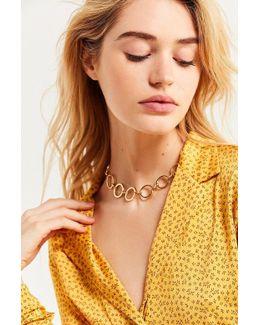 Desi Circle Link Choker Necklace