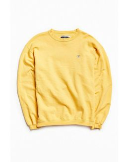 Vintage Buttercup Small Logo Crew Neck Sweatshirt