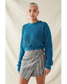 Recycled Cropped Sweater