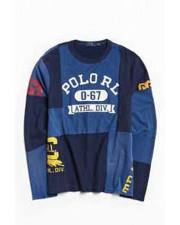 Polo By Ralph Lauren Patchwork Jersey