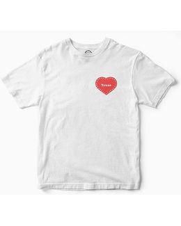 Uo Community Cares + Hurricane Harvey Relief Fund Houston Heart Tee