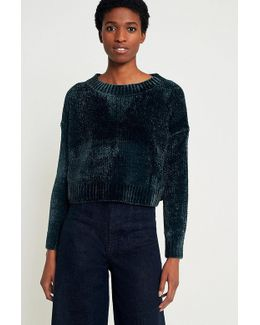Urban Outfitters Chenille Crew Neck Jumper
