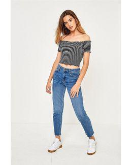 Axyl Slim Straight Medium Wash Jeans