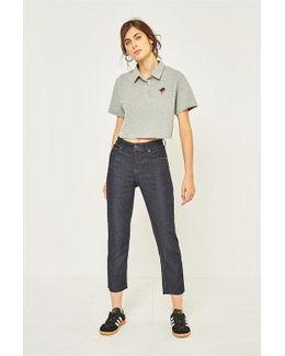 Axyl Slim Straight Rinsed Indigo Jeans