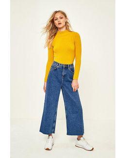 Flood Vintage Blue Jeans