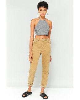 Mom Sand Corduroy Jeans