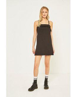 Raw Hem Slip Dress