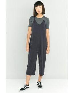 Calina Culotte Slip Black Jumpsuit