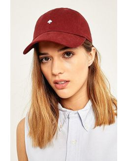 Embroidered Spade Baseball Hat
