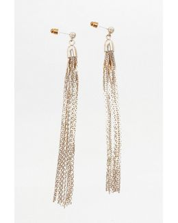 Tassel Chain Drop Earrings