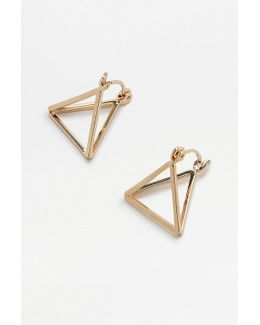 Boxy Triangle Earrings
