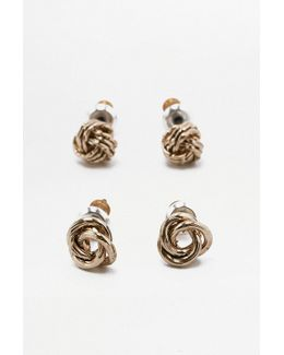 Get Knotted Earring Pack