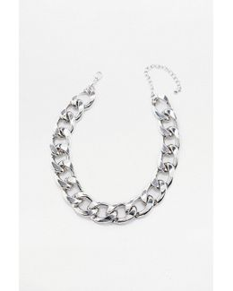 Super Chunky Chain Choker Necklace
