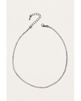 Cami Rhinestone Choker Necklace