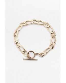 U-chain T-bar Anklet