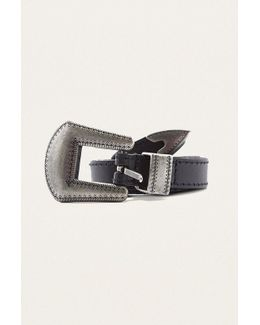 Leather Western Belt