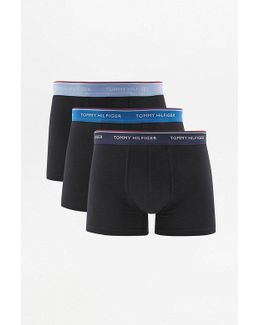 Black And Blue Boxer Trunks Pack