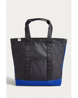 Bamfield Black And Surf Tote Bag