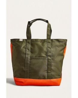 Bamfield Forest And Orange Tote Bag