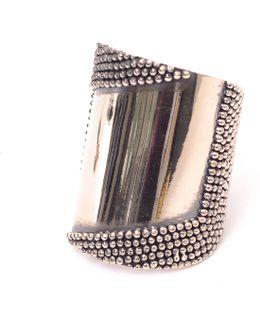 Silver Mirror Cuff