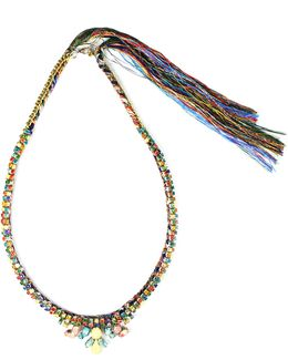 Multicoloured Rhinestone Necklace
