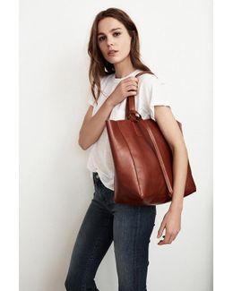Atlantis Leather Tote Bag