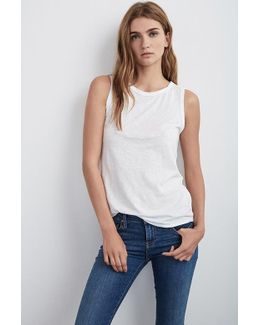 Taurus Cotton Slub Top